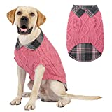 KOOLTAIL Dog Warm Winter Jumper Stylish Stitching Design Comfortable Winter <span class='highlight'>Pet</span> Knitsweater For XS - L size Dog