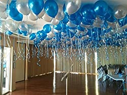decorative metallic balloons