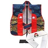陣羽織 初節句(端午の節句) 男の子 赤ちゃん用の陣羽織 スタンド付き JIN001-a