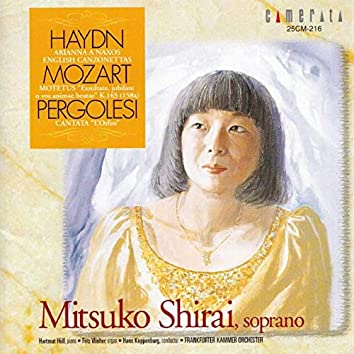 Haydn, Mozart, Pergolesi