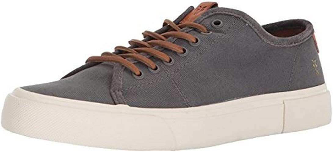 FRYE Men's Ludlow Low Tennis chaussures, gris, 10 M