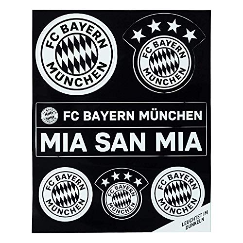 FC Bayern München Leucht-Aufkleber-Set