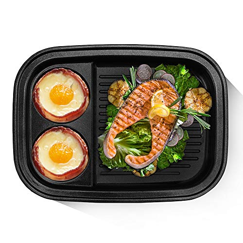 BSTY Grill & Dessert Pan for All-in-One Campact Multifunction Cooker   Electric Pan   Electric Griddle