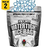 Reusable Ice Packs for Coolers – 3 Uses in 1: Emergency Water Storage Container, Long Lasting Ice Bag for your cooler, When Ice Melts, you can Drink it! Great For Camping, Picnics, or Disasters