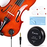 Kmise Piezo-Tonabnehmer für Ukulele Banjo Banjolele Violine Akustik Gitarre Cello