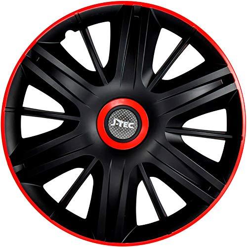 Wheel Trim Covers Set of 4 pcs 14 inch Orden Orange R  Caps