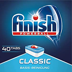 Finish Classic Regular Pastillas para Lavavajillas