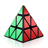 Speed Cube, Roxenda 3x3x3 Pyramid Speed Cube Triangle Puzzle Magic Cube Enhanced Edition - Turns Quicker and More Precisely Than Original