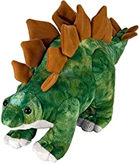 Wild Republic Stegosaurus Plush, Dinosaur Stuffed Animal, Plush Toy, Gifts for Kids, Dinosauria 10 Inches