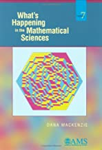 What's Happening in the Mathematical Sciences, Volume 7