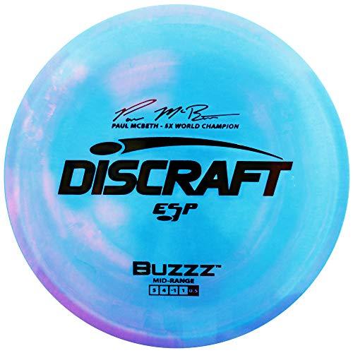 Discraft Paul McBeth Signature ESP Buzzz Midrange Golf Disc [Colors May Vary] - 177-180g
