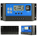 Best Solar Controllers - Solar Charge Controller 50A 12V/24V PWM Auto Paremeter Review