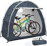 2021 Neues Fahrradzelt, dauerhafte wetterfeste Fahrradabdeckung, Fahrradaufbewahrung Schutzhülle Zeltschuppen für Garten/Outdoor/Home Shelter (Zwei Farben)