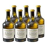 Château-Chalon Vin jaune Blanc 2013 - Domaine Jean-Luc Mouillard - Vin AOC Blanc du Jura - Lot de 6x62cl - Cépage Savagnin - 92/100 La Revue du Vin de France