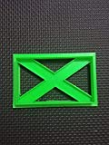 3D Printed Scottish Flag Cooki...