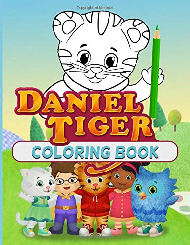 Daniel Tiger Coloring Book: Daniel Tiger Anxiety An Adult Coloring Book (Unofficial)