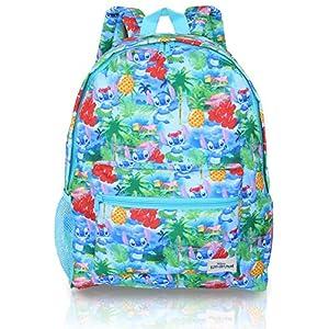 5126 O39H1L. SS300  - Mochilas Escolares Juveniles para Niños Y Adolescentes De Lilo y Stitch | Mochila Escolar Niña De Color Azul De Disney…