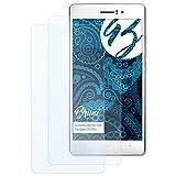 Bruni Schutzfolie kompatibel mit Oppo R5/R5s Folie, glasklare Bildschirmschutzfolie (2X)