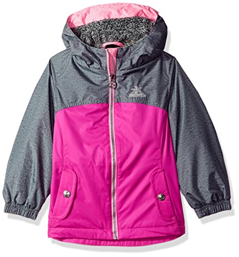 ZeroXposur Little Eleanor Jvi Girls Transitional Jacket, Camellia, Small