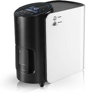 ETE ETMATE nieuwste zuurstofconcentraator, beter 1-7 l/min instelbare draagbare zuurstofmachine voor thuis en op reis, de ...