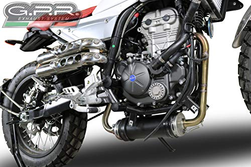 GPR Escape Exhaust Systems MD.2.DEC F.B. MONDIAL HPS 125 2016/2017 > 03/2018 Collector Racing para Eliminar CATALIZADOR DECATALIZZATORE