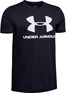 Under Armour Boy's Sportstyle Logo Short Sleeve Top