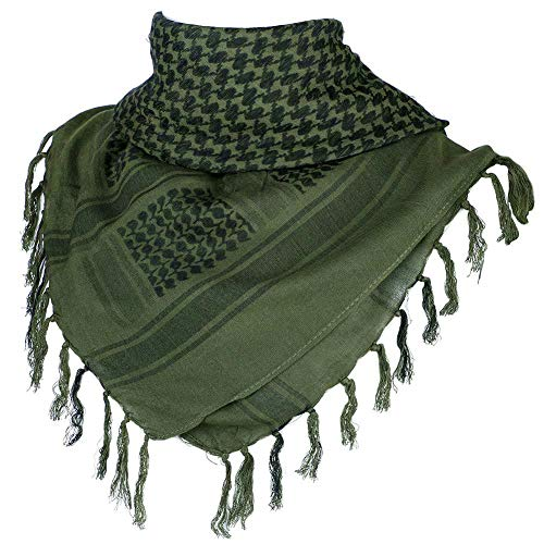 FFNIU Face MaskScarf - Military Shemagh Tactical Desert Arab Keffiyeh Head Neck Scarf