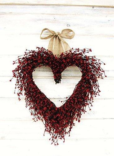 Wedding Wreath Wedding Decor Mothers Day Gift Weddings Heart Wreath,Valentines Day Wreath-Heart Wreath-Valentine Wreath,Winter Wreath Wedding Decor Mothers Day Wreath Heart Wreath