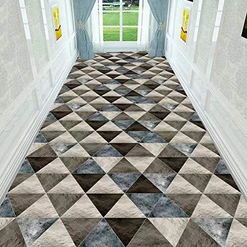 Tapijtlopers tapijt voor ganggangen, extra lange instaptapijten, antislip, wasbaar - 60/80 /90/100/120 cm breed,1.4 * 5m