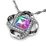 DEPHINI - Collar mujer - arco iris SW Cristal Secreto...