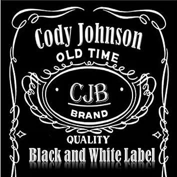 Black and White Label