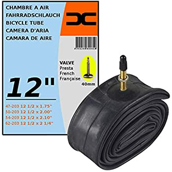 Innertube 12 1//2 x 2 1//4 Bent Schradar Valve Stroller Pushchair Pram Buggy