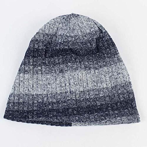 Xme Nuevos Sombreros de Punto degradados, Gorros cálidos...