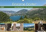 Einsame Dörfer - Eine Wanderung in den Abruzzen (Wandkalender 2022 DIN A3 quer)