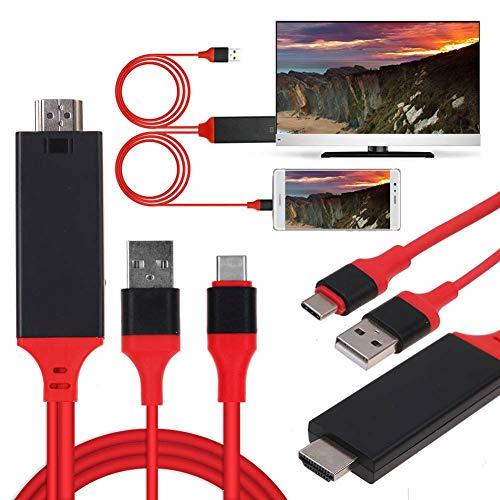 Cable de TV MHL USB 3.1 tipo C a HDMI 1080P HD...