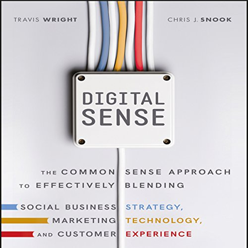 Digital Sense audiobook cover art