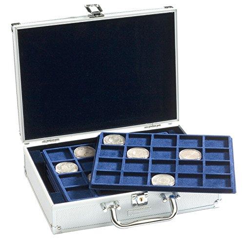 Leuchtturm Münzkoffer 322414 Cargo S6 für 120 10-, 20- oder 25-Euro-Münzen