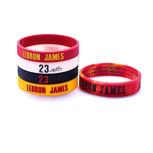 online retailer a4c35 67f60 AMIC Silicone Wristband Bracelet -4 or 5PCS Assorted Color