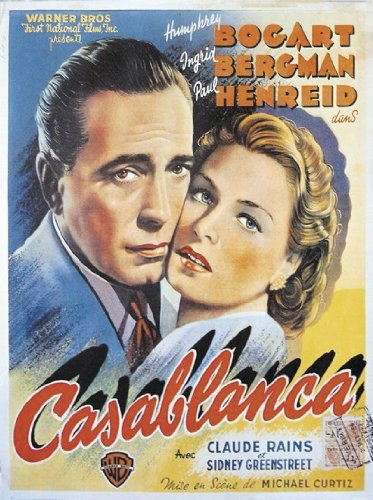 "Póster ""Casablanca"" (67,5cm x 88cm)"