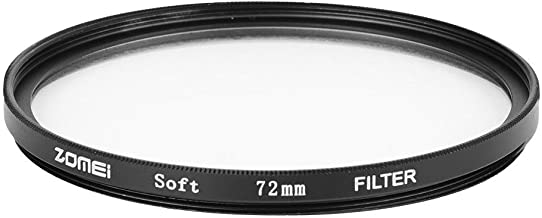 Acouto Glass Aluminum Frame Ultra Slim Soft Effect Diffuser Filter for DSLR(72mm)