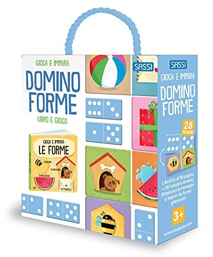 Gioca e impara. Domino forme. Ediz. a colori. Con tessere domino