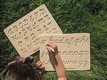 uppercase cursive alphabet