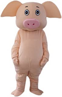 Pig Mascot Costume Cartoon