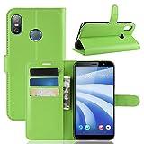 AIOIA Hülle für HTC U12 Life,PU Leder Hülle Tasche Schutzhülle Handyhülle für HTC U12 Life