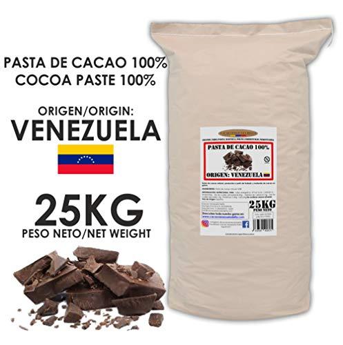 Cacao Venezuela Delta - Chocolate Negro Puro 100% · Origen Venezuela (Pasta, Masa, Licor De Cacao 100%) · 25kg