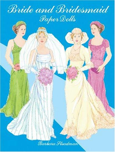 Bride and Bridesmaid Paper Dolls