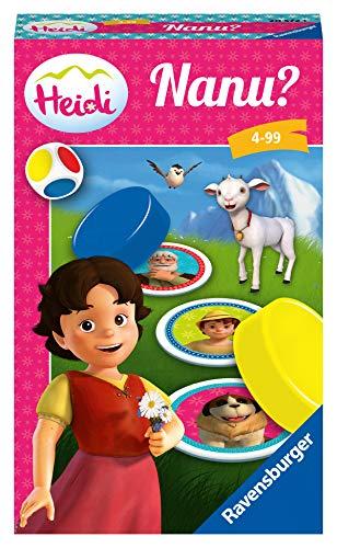 Ravensburger Mitbringspiele 20572 - Heidi Nanu? - Ein Merkspiel für kleine und große Heidi-Fans