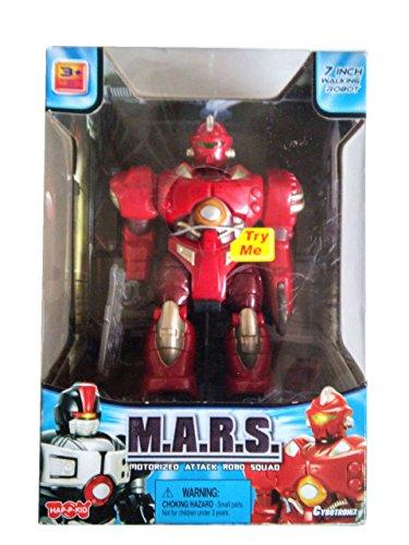 Cybotronix M.A.R.S. Motorized Attack Robo Squad