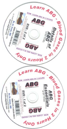 Learn ABG -- Arterial Blood Gas Analysis in 2 Hours Only Via DVDs