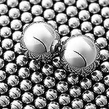 1200Pcs 3/8'' Slingshot Ammo Ball 9mm Precision Steel Bearing Balls Scout Slingshot Ball for Hunting